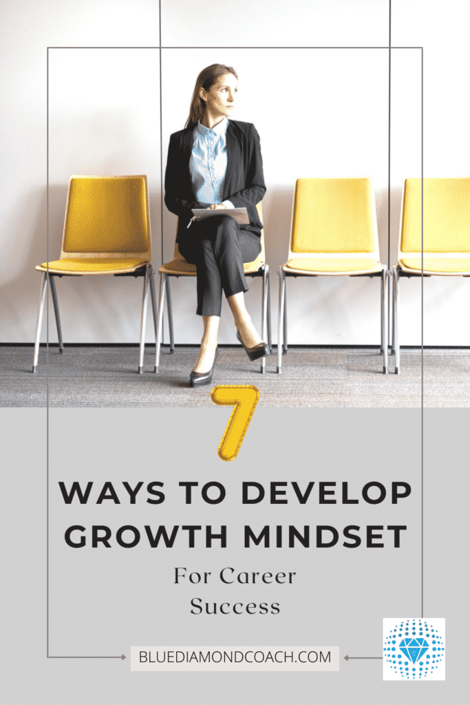 7 ways to develop growth mindset for success woman looking positive