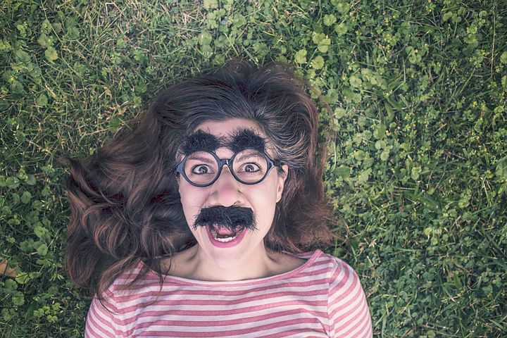 Women in disguise with imposter syndrome