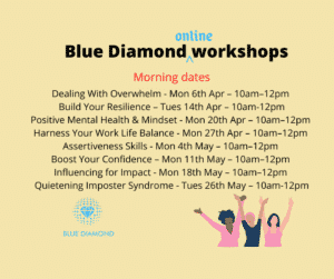 Blue Diamond online workshops